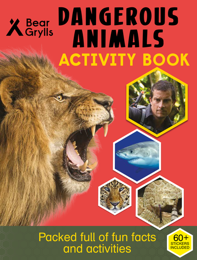 Dangerous Animals Activity Book cover
